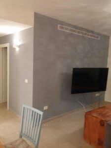 צבע בסלון