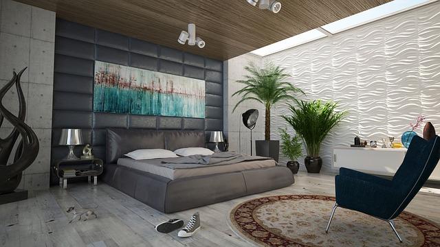 צביעת חדר שינה
